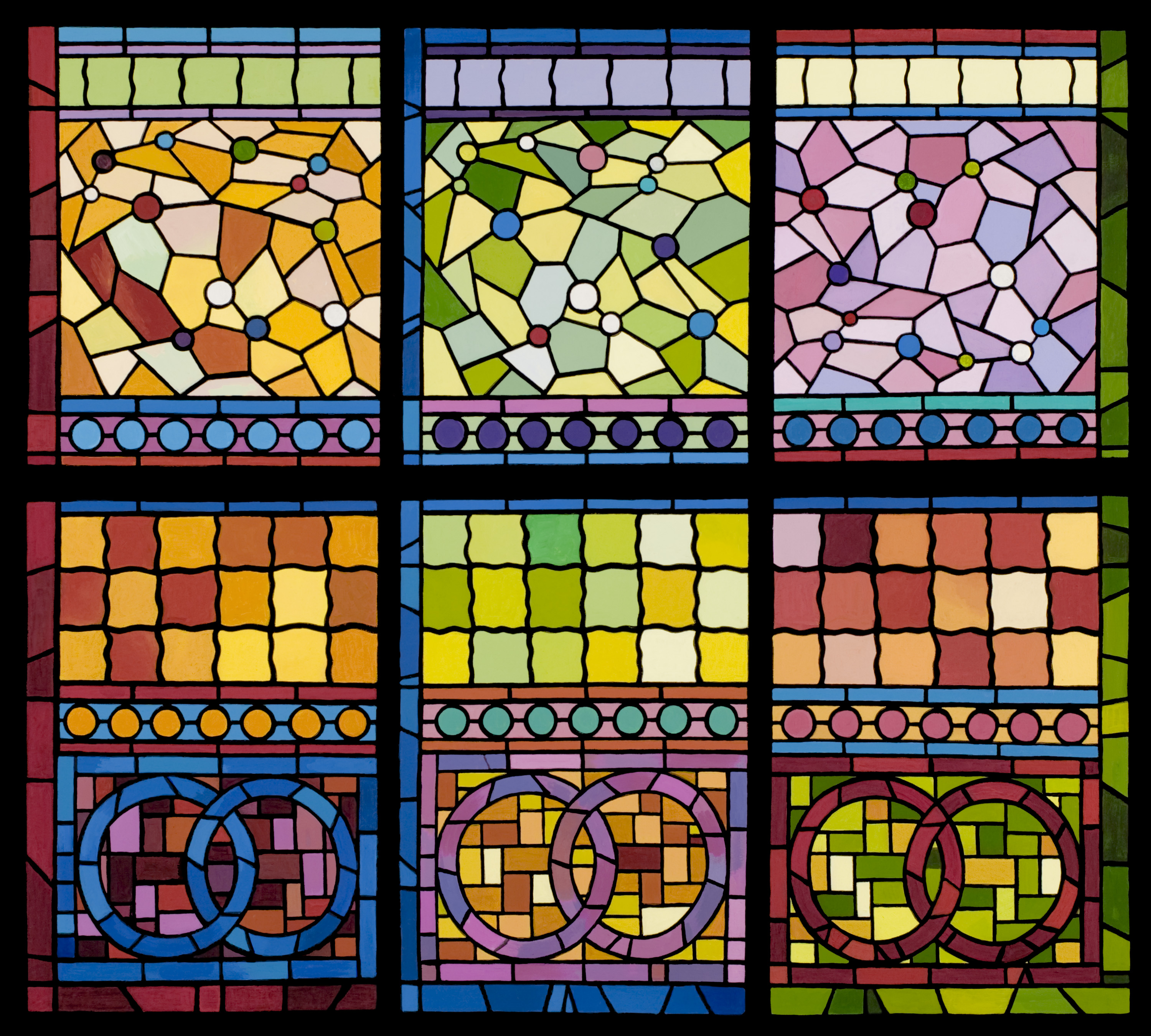 Wonderful Stained Glass | Carol Ezell-Gilson WA87