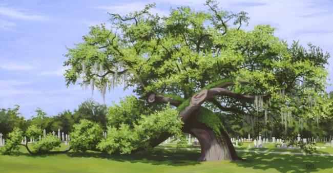 Giant Oak at Magnolia Cemetery