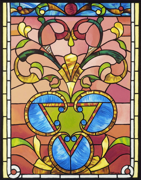 Stained Glass at Circular