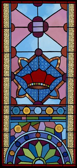 """The Red Crown"" - Kahal Kadosh Beth Elohim Synagogue"