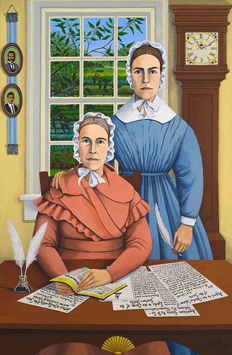 """Sarah and Angelina, the Grimké Sisters from Charleston"""