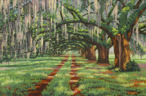 Oak Avenue at Dixie Plantation